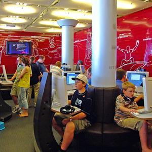 Интернет-кафе Валаама